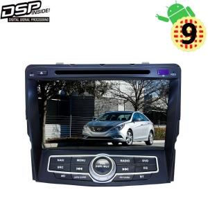 Штатная магнитола Hyundai Sonata 10-13 г LeTrun 3070 Android 9.x MTK-L 2+32 Gb DSP