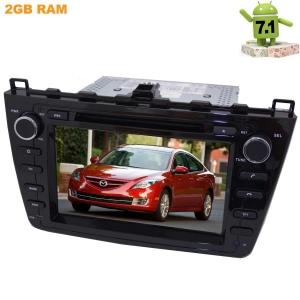Штатная магнитола Mazda 6 2007-2012 LeTrun 2353 Android 7.1.1 черная