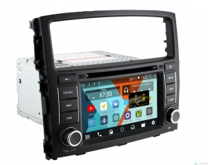 Штатная магнитола Parafar для Mitsubishi Pajero 4 на Android 8.1.0 (PF458KDSP)