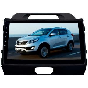 Штатное головное устройство для Kia Sportage 2010-2015 LeTrun 2907-2934 9 дюймов KD Android 8.x MTK 4G 2+16 Gb