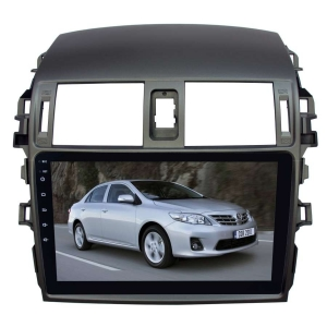 Штатная андроид магнитола для Toyota Corolla 2007-2012 LeTrun 1859-2934 9 дюймов KD Android 8.x MTK 4G 2+16 Gb