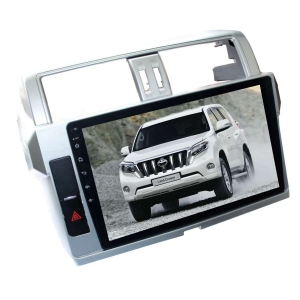Штатная магнитола для Toyota Prado 150 с 2013 года LeTrun 1864-2360 10 дюймов KD Android 8.x MTK-L 1+16 Gb