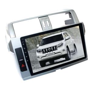 Штатная магнитола для Toyota Prado 150 с 2013 года LeTrun 1864-1827 10 дюймов KD Android 8.x MTK 4G 2+16 Gb