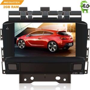 Штатная магнитола Opel Astra J LeTrun 2314 Android 6.0.1 MTK 4G