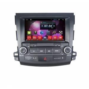 CARMEDIA QR-8007 Головное устройство на Android 6.0.1 для Mitsubishi Outlander Xl Citroen C-Crosser, Peugeot 4007