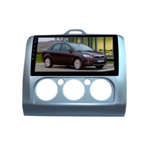 Штатная магнитола для Ford Focus 2 05-10 г кондиционер LeTrun 2445-3066 9 дюймов KD Android 9.1 MTK-L 2+32 DSP