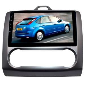 Штатная магнитола для Ford Focus 2 (с климатом) LeTrun 2446-2361 9 дюймов KD Android 8.x MTK-L 2.5D 1+16 Gb