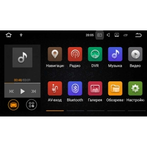 Штатная магнитола Mitsubishi Pajero 4 LeTrun 2038 Android 7.1.1 экран 8 дюймов