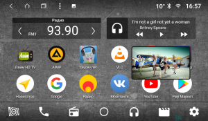 Штатная магнитола Parafar с IPS матрицей для Honda CR-V 4 2012-2015 на Android 8.1.0 (PF983K)