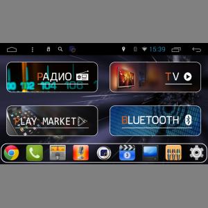 Штатное головное устройство DAYSTAR DS-7012HD ДЛЯ FORD (черная) 2 ANDROID 8.1.0