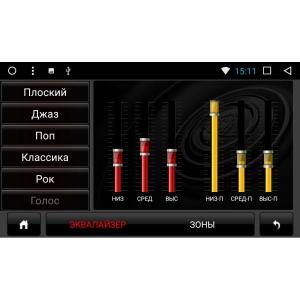 Штатная магнитола Honda CRV с 2012 г LeTrun 2191 Android 7.1 Alwinner T3 экран 10,2 дюйма