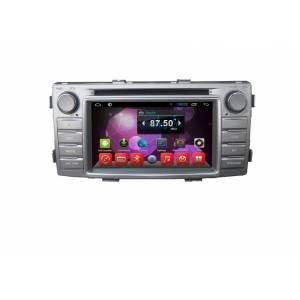 CARMEDIA QR-6216 Универсальное головное устройство на Android 6.0.1 для Toyota Hilux 2012