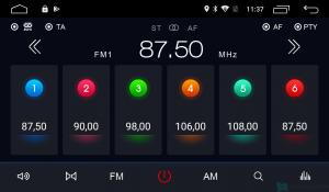 Штатная магнитола Parafar с IPS матрицей для Mazda 6 2007-2012 на Android 6.0.1 (PF012Lite)