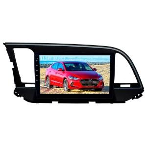 Штатная мультимедиа для Hyundai Elantra, Avante с 2016 г LeTrun 2742-2986 9 дюймов NS 2+16 Gb MTK-L Android 9.x DSP