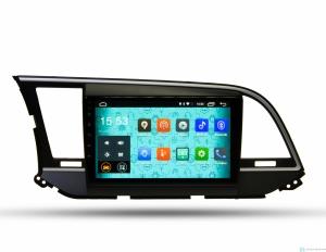 Штатная магнитола Parafar 4G/LTE с IPS матрицей для Hyundai Elantra 6 2016+ на Android 7.1.1 (PF581)