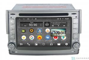 Штатная магнитола Parafar с IPS матрицей с DVD для Hyundai H1 Starex 2007-2015 на Android 7.1.2 (PF233K)
