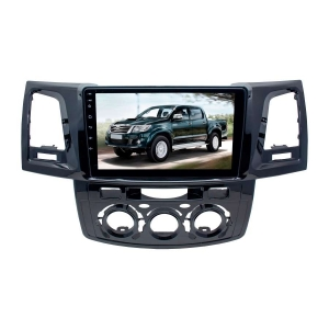 Штатное головное устройство для Toyota Hilux до 2008-2014 год LeTrun 3016-2986 9 дюймов NS 2+16 Gb MTK-L Android 9.x DSP