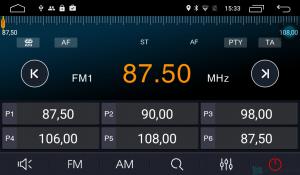 Штатная магнитола Parafar с IPS матрицей для Ford Mondeo 5 2015+ на Android 6.0 (PF966Lite)