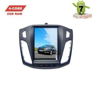 Штатная магнитола 2DIN Ford Focus 3 с 2010 года LeTrun 2975 экран 10 дюймов Android 7.x Tesla ZF 2+32 Gb