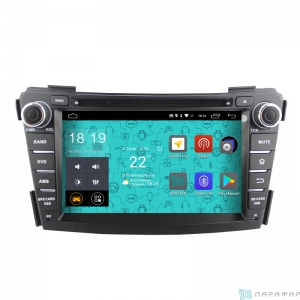 Штатная магнитола Parafar 4G/LTE для Hyundai i40 c DVD на Android 7.1.1 (PF172D)