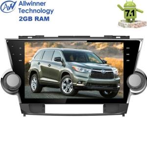 Штатная магнитола Toyota Highlander LeTrun 2286  Android 7.1.1 экран 10,2 дюйма T3