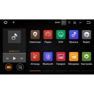 Штатная магнитола Hyundai Santa Fe до 2013 года LeTrun  1876 Android 7.1.1