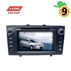 Штатная автомагнитола Toyota Avensis 2009-2013 LeTrun 2937 MT 2+16 Gb черный Android 9.x экран 7 дюймов