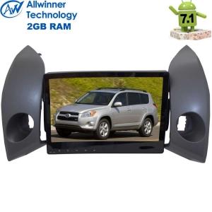 Штатная магнитола Toyota RAV4 до 2013 г. LeTrun 2352 Android 7.1.1 Alwinner T3 экран 10,2 дюйма