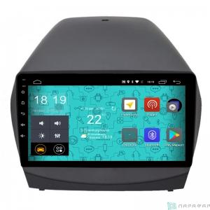 Штатная магнитола Parafar 4G/LTE с IPS матрицей для Hyundai IX35 2010-2015 на Android 7.1.1 (PF361)