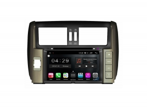 Штатная магнитола FarCar s200+ для Toyota Land Cruiser Prado 150 на Android (A065)