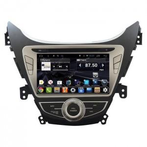 Штатное головное устройство DAYSTAR DS-7052HD 2011-2014 Hyundai Elantra ANDROID 9