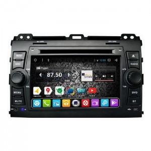Штатное головное устройство DAYSTAR DS-8001HD Для Toyota Prado 120.Lexus GX470. ANDROID 9