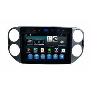 CARMEDIA QR-1014 Головное устройство на Android 6.0.1 для Volkswagen Tiguan