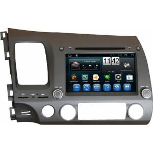 Carmedia QR-8046 Головное устройство на Android 6.0.1 для Honda Civic 8 Sedan/Coupe 2006-2011 (FD) левый руль