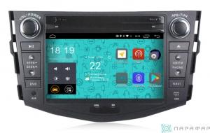 Штатная магнитола Parafar 4G/LTE для Toyota Rav4 2006-2012 с DVD на Android 7.1.1 (PF018D)