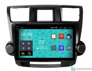 Штатная магнитола Parafar с IPS матрицей для Toyota Highlander 2007-2012 на Android 6.0 (PF035Lite)