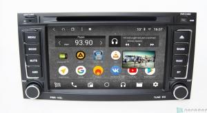 Штатная магнитола Parafar с IPS матрицей с DVD для VW Touareg 2003-2012 Android 7.1.2 (PF042K)