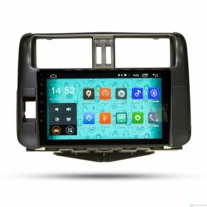 Штатная магнитола Parafar 4G/LTE с IPS матрицей для Toyota Land Cruiser Prado 150 2010-2012 на Android 7.1.1 (PF065)