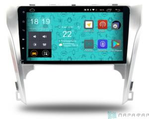 Штатная магнитола Parafar 4G/LTE с IPS матрицей для Toyota Camry v50 2012-2014 на Android 7.1.1 (PF131)