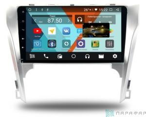 Штатная магнитола Parafar с IPS матрицей для Toyota Camry V50 на Android 8.1.0 (PF131K)