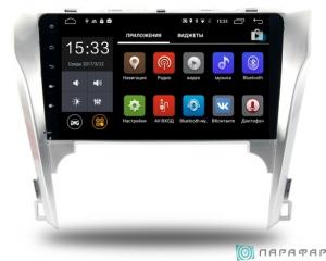 Штатная магнитола Parafar с IPS матрицей для Toyota Camry V50 на Android 6.0 (PF131Lite)