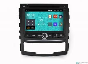 Штатная магнитола Parafar 4G/LTE для Ssang Yong Actyon 2011-2012 с DVD на Android 7.1.1 (PF159D)