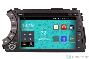 Штатная магнитола Parafar 4G/LTE для Ssang Yong Kyron 2005-2015 на Android 7.1.1 (PF160D)