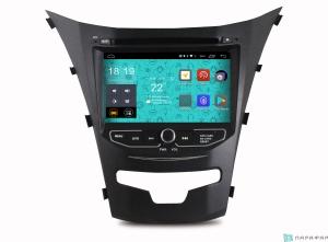 Штатная магнитола Parafar 4G/LTE для Ssang Yong Actyon 2013+ с DVD на Android 7.1.1 (PF355D)