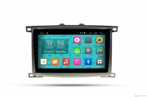 Штатная магнитола Parafar 4G/LTE с IPS матрицей для Toyota LC100 (1998-2003) на Android 7.1.1 (PF450)