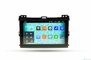 Штатная магнитола Parafar 4G/LTE с IPS матрицей для Toyota Land Cruiser Prado 120 2002-2009 на Android 7.1.1 (PF456)