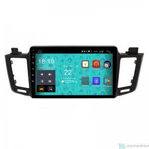 Штатная магнитола Parafar 4G/LTE с IPS матрицей для Toyota Rav4 2013+ на Android 7.1.1 (PF468)
