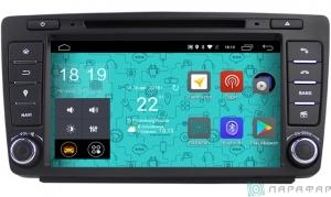 Штатная магнитола Parafar 4G/LTE для Skoda Octavia 2, A5 2004-2013 с DVD на Android 7.1.1 (PF878D)