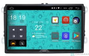 "Штатная магнитола Parafar 4G/LTE IPS матрица для VW, Skoda, Seat (универсальная) экран 9"" на Android 7.1.1 (PF904F)"