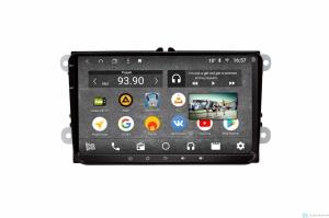 """Штатная магнитола Parafar с IPS матрицей для VW, Skoda, Seat экран 9"""" на Android 8.1.0 (PF904KDSP)"""